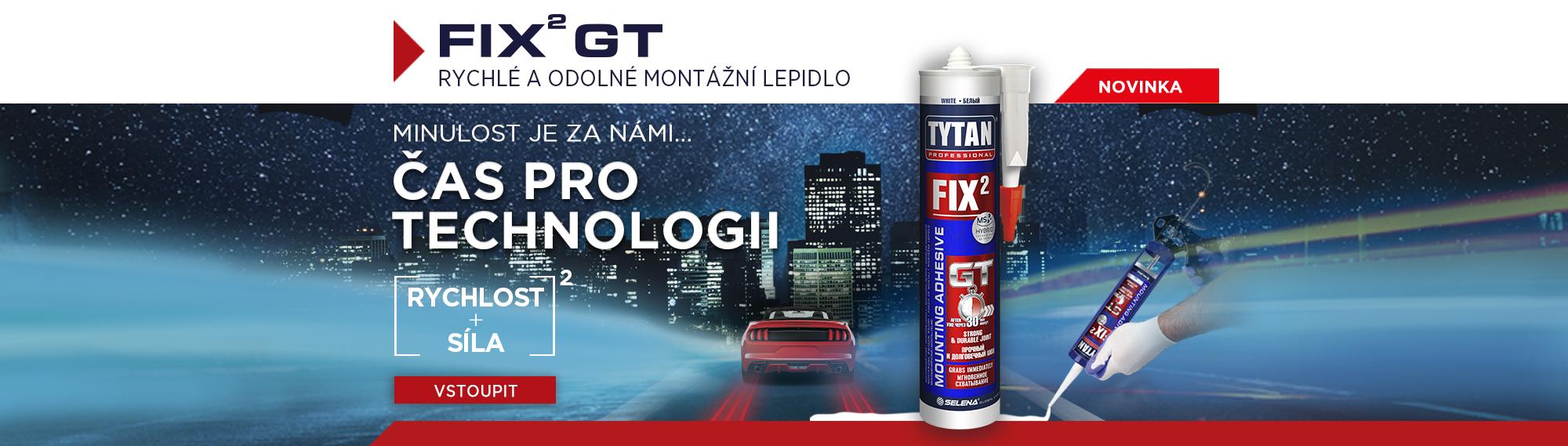 Tytan Professional FIX² GT Rychlé a odolné montážní lepidlo